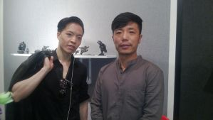 Michael Andrew Law with Wang Xinggang by michaelandrewlaw