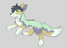 slime doggo {closed} by skyfeather0066