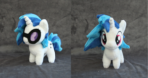Vinyl Scratch Chibi Plush by Yukamina-Plushies