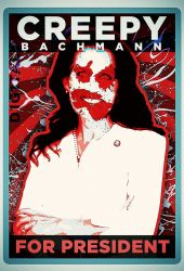Creepy Bachmann for President by d1g1talco