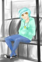Slouchy Lyra by Tao-mell