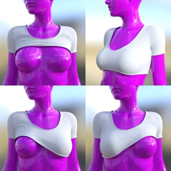 **UPDATED** G3F TightT (Morphing Clothing) by soup-sammich