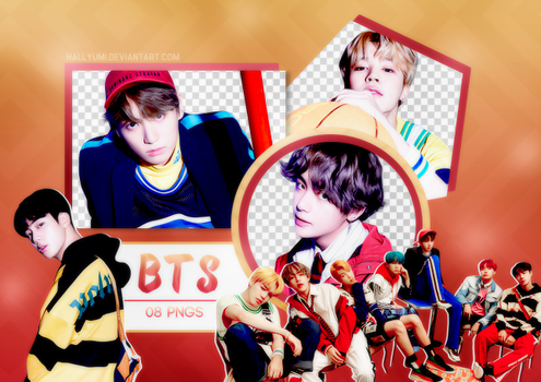PNG PACK: BTS #21 ('HER' E version) by Hallyumi