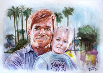 Dexter And Harrison by staseykinney