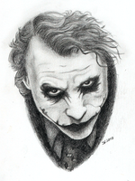 The Joker - Why so serious? by sandraen