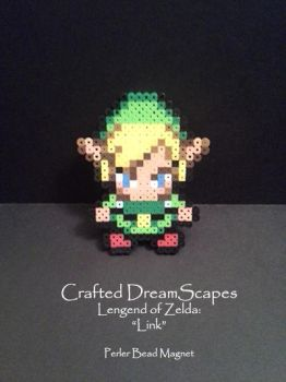 Legend of Zelda: Link - Perler Beads by Crafted-DreamScapes