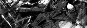 Spiderman black and white by Jp182