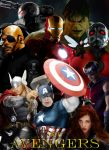The Avengers Poster by Valor1387
