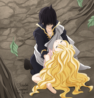 Zeref and Mavis ft 450 by claudiadragneel