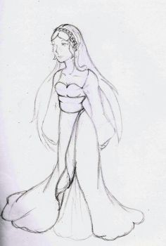 Princess Zelda Sketch by TaChan-Zeitman
