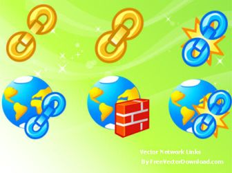 Free Vector Network Icons by freevectordownload