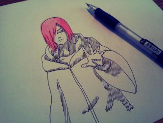Nagato drawing by InvisibleIS