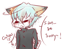 Sorry QAQ by Dream-Yaoi