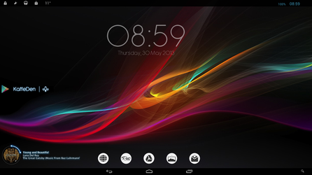 Windows via Android by kaffeden