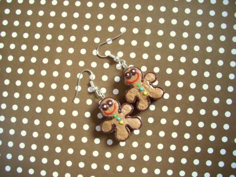 Little gingerbread dudes!! by PORGEcreations