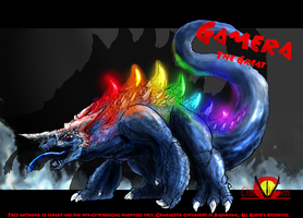 Gamera the Great: Balgon by Vagrant-Verse
