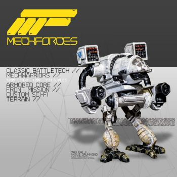 MechForces website is online! by AlejandroFiny