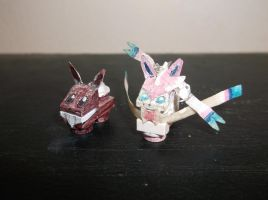 LEGO Pokemon: Eevee and Sylveon by TommySkywalker11