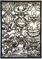 Papercutting-Kirby Bosses 2 by Sirometa