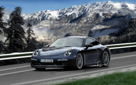 2012 Porsche 911 Carrera S - F by CarraraDesign