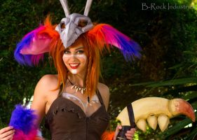 Gnar -  League of Legends cosplay by hurutotheguru