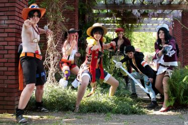 One Piece - Come on and fight! by Schantra