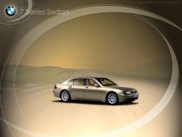 BMW 7 Sedan by waldemarart