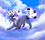 Dalmatian Art Trade with JB by Jacky-Bunny
