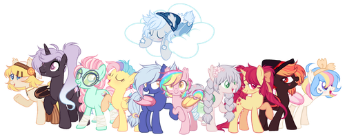 The Whole Gang by taesuga