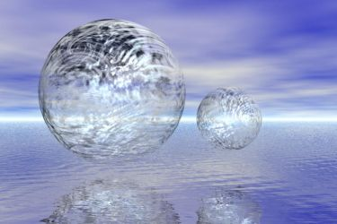 Spheres on the Water by kashmier