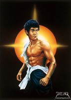 Bruce Lee 2 by jarling-art