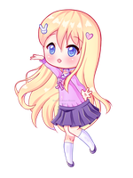 [Original] Mimi Cheeb (+ speedpaint) by Kawaii-Says-Meow