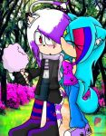 .:Cotton Candy Date - Lokeus:. [GIFT] by NeusTheHedgewolf