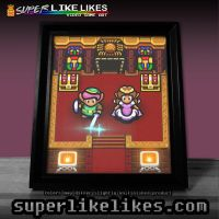 Zelda Link to the Past Sanctuary Photo Print by likelikes
