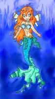 Bloom Mermaid by ninpeachlover