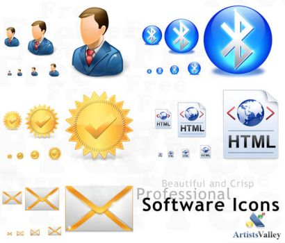 Free Toolbar Icons Vista Style by artistsvalley