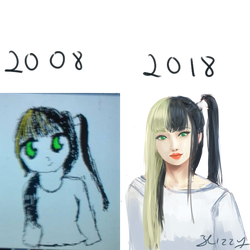 10 years draw this again by 3lizzy