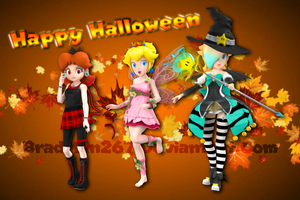 Happy Halloween from the Royal Trio 2017 by BradMan267