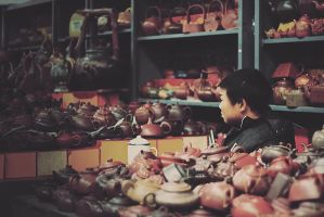 In the market III by ornie