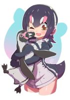 Hululu and Grape-kun : the Humboldt Penguins by ROGER-IS