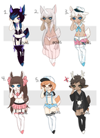 Dainty Adopts Batch 5- CLOSED by Pajuxi-Adopts