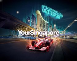 F1 Singapore 2010 - Pure Race by Artgerm