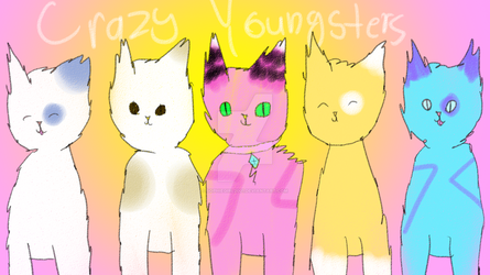 OC's - Crazy Youngsters w/ Speedpaint