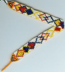 Loomed Diamond Strap by Refiner