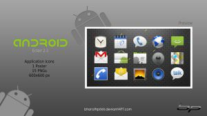 Android Application Icons Set by bharathp666