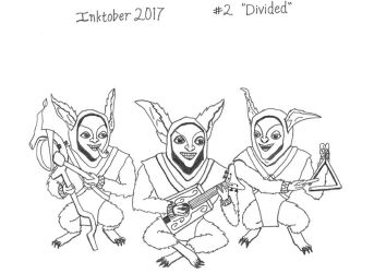 Inktober-2 by PrinceChartreuse