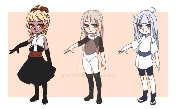 Adoptables #31 -Open- by KamikaChan