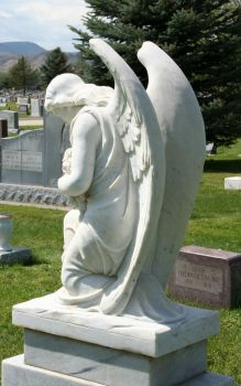Mount Olivet Cemetery Angel 234 by Falln-Stock
