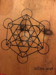 Merkabah on Plywood by AliDee33