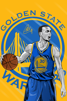 Stephen CURRY Vector Art by EmircanSeviindik